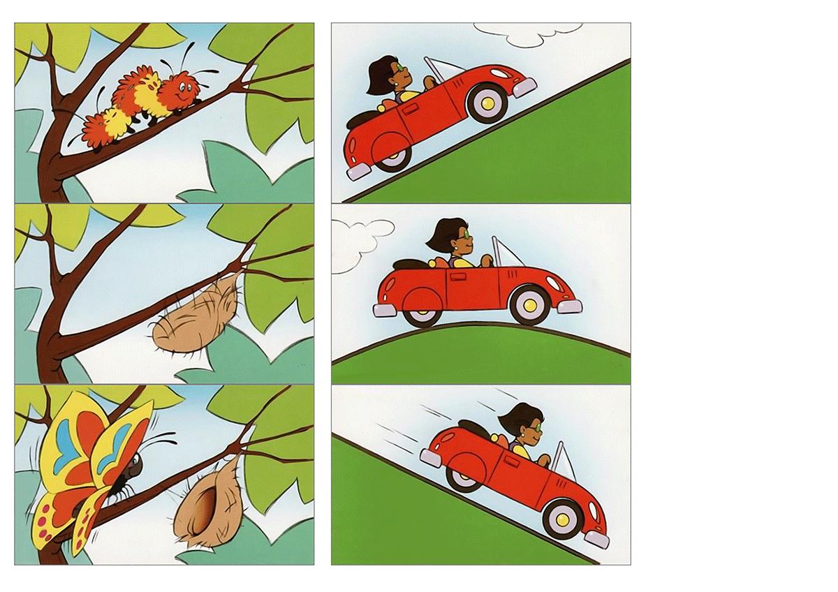 Картинки с последовательными сюжетами