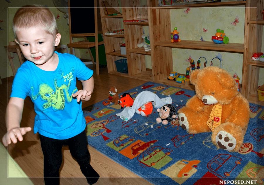 Картинки о зиме ребенок на горшке