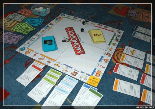 распечатать настольную игру монополия